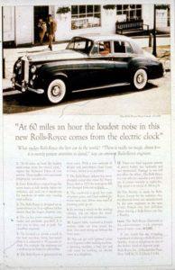Przykład tekstu reklamowego - David Ogilvy - w artykule Copywriting Biznesowy o tym jak napisać reklamę